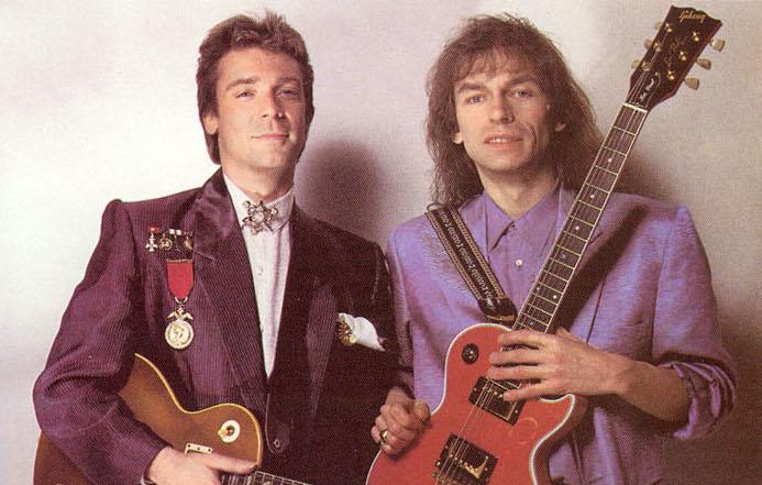 Steve Hackett y Steve Howe