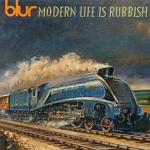 Portada de Modern Life Is Rubbish, de Blur