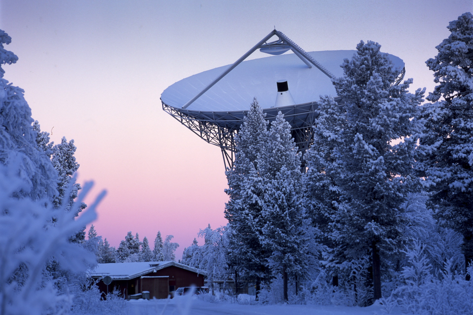 Sede de la EICAT en Kiruna, Suecia