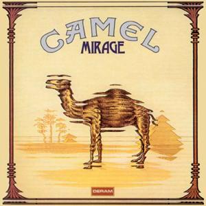 Portada del álbum Mirage de Camel
